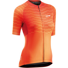 Northwave Blade Short Sleeve Jersey Women, siena orange